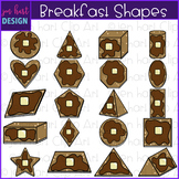 Shapes Clip Art - Breakfast Pancakes Shapes {jen hart Clip Art}