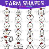 Shapes Clip Art - Farm Shapes {jen hart Clip Art}