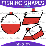 Shapes Clip Art - Fishing Shapes {jen hart Clip Art}