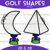 Shapes Clip Art - Golf Shapes {jen hart Clip Art}