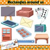 Shapes 2D Rectangles Clip art