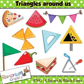 Shapes 2D Triangles Clip art