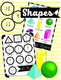 Shapes Clipart 2D and 3D – From 3-sided to 12-sided Shapes