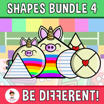 Shapes Clipart (Bundle 4)