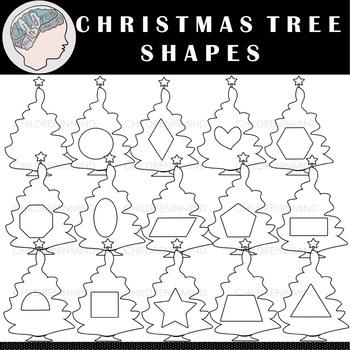 Shapes Clipart (Christmas Tree)