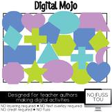 Shapes Clipart NO FUSS TOU Moveable Clipart for Digital Ac