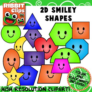 Shapes Clip Art (Smiley)