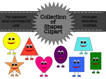 Shapes Clipart Collection for Commercial and Personal Use FREEBIE