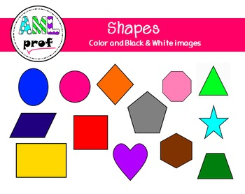 Shapes Clipart (formes)