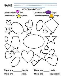 Shapes Color and Count