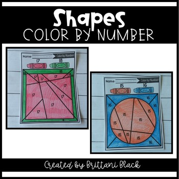 Shapes- Color by Number