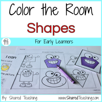 Shapes Color the Room