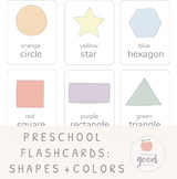 Shapes + Colors Flashcard Set