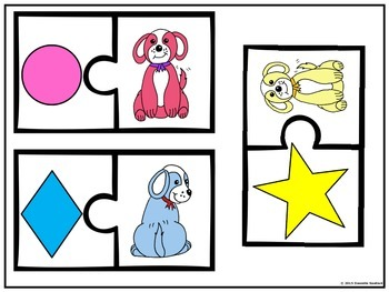 Shapes, Colors, and Numbers