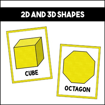 Shapes Colors and Numbers: Yellow   Classroom Decor
