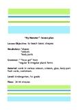 Shapes- Colours-Body Parts (CLIL Activities) Lesson Plan