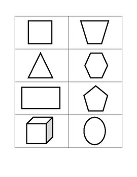 Shapes Concentration Game