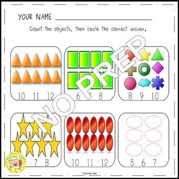 Shapes Clip Task Cards
