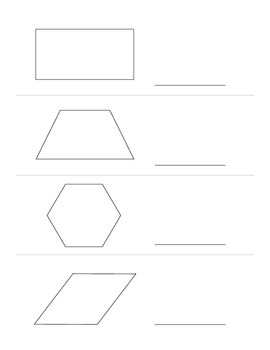 Shapes: Count the Sides