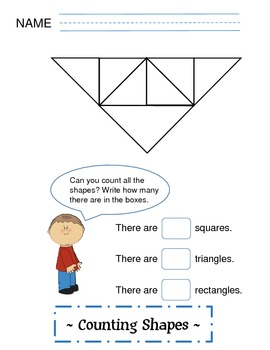 Shapes - Counting Geometric Shapes