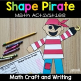 Shapes Craft Kindergarten - Shape Pirate