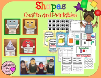 Shapes Crafts and Printables