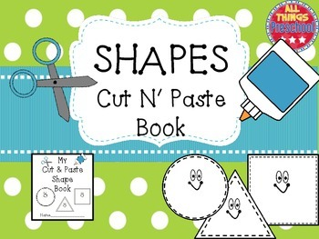 Shapes; Cut & Paste Book