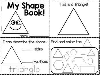 Shapes Cut and Staple Books