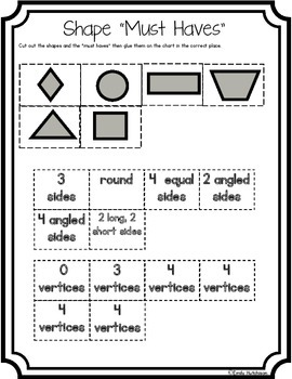 Shapes-Defining Attributes