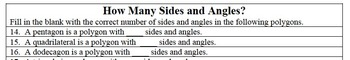 Shapes & Designs in Geometry with Polygons, Shapes, & Angles