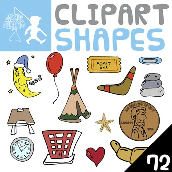 Shapes - Digital ClipArt