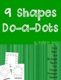 Shapes Do-a-dot