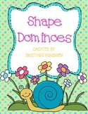 Shapes Dominoes Math Center: Includes 5 Games