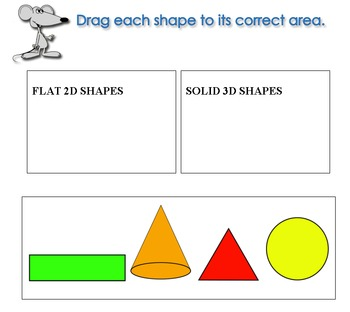 Shapes Drag and Drop (K.G.A.3)
