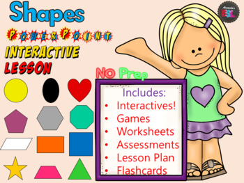 Shapes - No PREP Lesson
