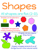 Elements of Art #2 - Shapes poster