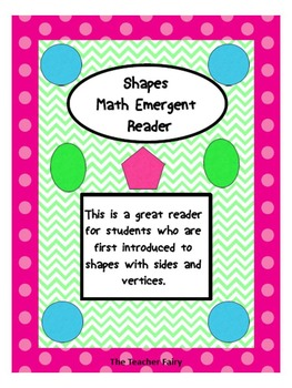 Shapes Emergent Math Reader
