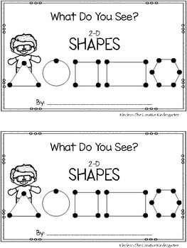 Shapes {Emergent Reader}
