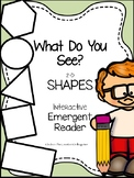 2D Shapes {Interactive Emergent Reader}