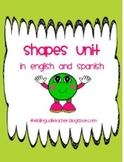 Shapes (English and Spanish)