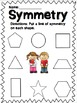 Shapes: Equal Parts and Symmetry