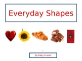 """Shapes - """"Everyday Shapes"""" Two multi-leveled books and comprehension worksheets"""