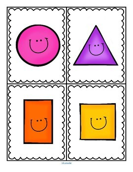 Shapes Centers and Games for Preschool by KidSparkz | TpT