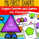 Shapes Centers and Games for Preschool - My First Shapes