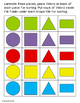 Shapes File Folder Activities for Special Education