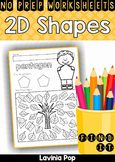 Shapes Find It No Prep Worksheets