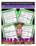 Shapes - Find the Area of a Rectangle - Grades 4-6 (4th-6th Grade)