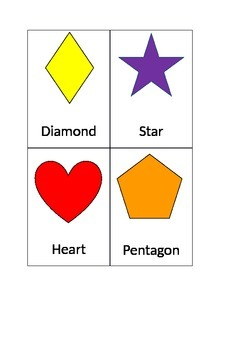 Shapes Flash Cards