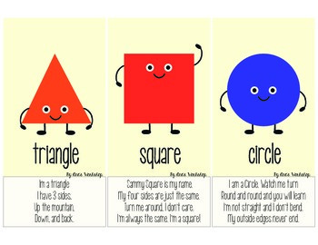 Shapes Flash Cards Bingo and Activities