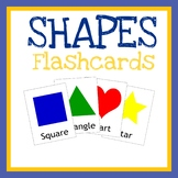 Shapes Flashcards, Printable Cards. Worksheets, Quiet Books